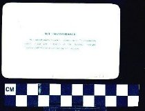 Image of 1986.9.251 Back