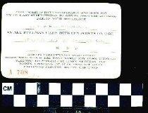 Image of 1986.9.257 Back