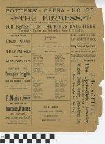 """Image of """"The Kirmess"""" play program"""