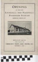 Image of Louisville and Nashville Passenger Station program