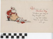 Image of Christmas Card to Sailor inside