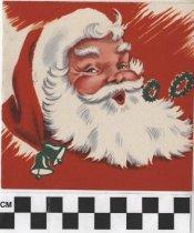 Image of Christmas Card Santa Claus front