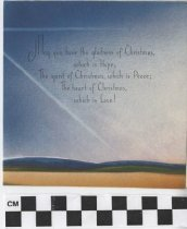Image of Christmas Card inside right