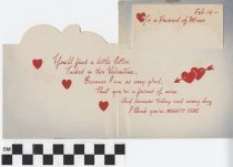 Image of Valentine Card for Serviceman inside