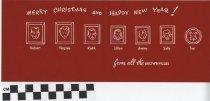 Image of christmas card inside