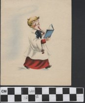 Image of Christmas Card Choir Boy front