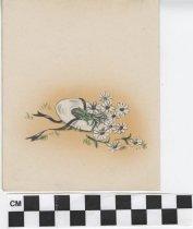 Image of flower girl birthday card inside left