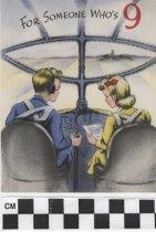 Image of Nine year old birthday card -