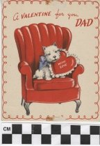 Image of Father's valentine card -