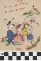 Image of easter card front