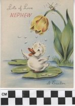 Image of Nephew's Easter card -
