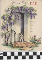 Image of Father's Easter card -