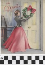 Image of Christmas Card to a mother front