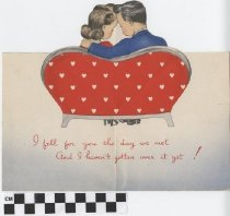 Image of valentine's day card inside