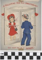 Image of valentine's day card front
