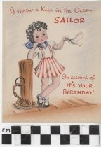 Image of Birthday Card to Sailor