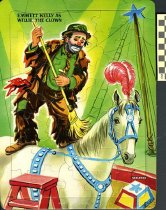 Image of 1987.155.91 - Willie the Clown puzzle