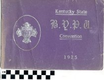 Image of Kentucky State BYPU Convention program