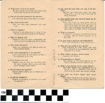 Image of Baptist Beliefs pamphlet