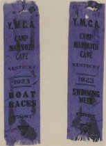 Image of Y.M.C.A. camp ribbon - Ribbon, Prize