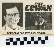Image of Fred Cowan Democrat for Attorney General