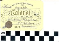 Image of Kentucky Colonel membership card