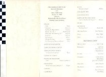 Image of wedding program