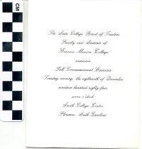 Image of Graduation announcement