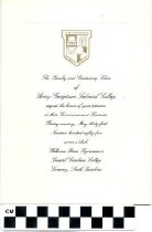 Image of Graduation invitation