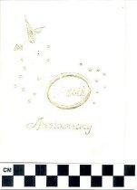 Image of 50th anniversary invitation