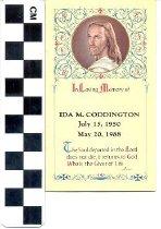 Image of Memorial Card, 1988