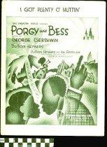 Image of I got plenty o' nuttin' - Gershwin, George