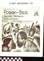 Image of It ain't necessarily so - Gershwin, George, 1898-1937.