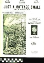 Image of Just a cottage small (by a waterfall) - Hanley, James F., 1892-1942.