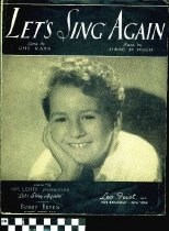 Image of Let's sing again - McHugh, Jimmy, 1894-1969.