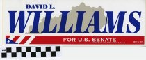 Image of David L. Williams for U. S. Senate - David L. Williams for U. S. Senate