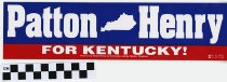 Image of Patton/ Henry for Kentucky!