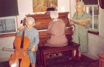 Image of Shaker Sisters playing music