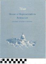 Image of House of Representatives Restaurant Menu