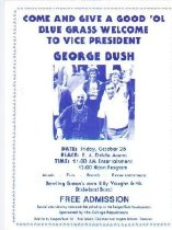 Image of Welcome Vice President George Bush -