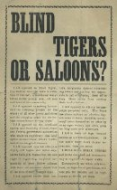 Image of Blind Tigers or Saloons? -