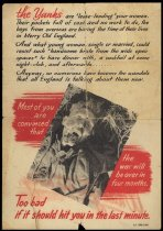 Image of While You Are Away - World War II Poster -