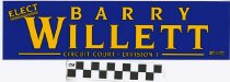 Image of Elect Barry Willett Circuit Court- Division 1