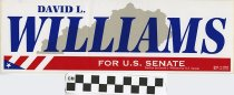 Image of David L. Williams U.S. Senate -