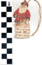 Image of Christmas gift tag
