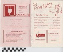 Image of Swing Into The Seventies program