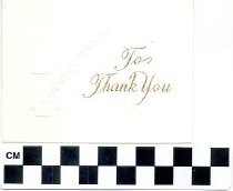 Image of To Thank You greeting card