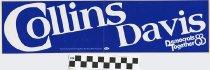 Image of Collins/ Davis: Democrats Together '83.
