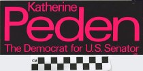 Image of Katherine Peden, Democrat, For U.S. Senator