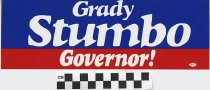 Image of Grady Stumbo: Governor! (Italic Font)